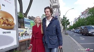 Német milf punci pénzért kefél az utca ügynökével